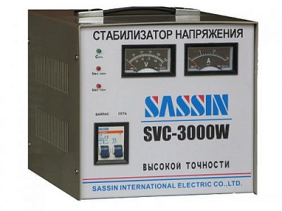 фото Sassin SVC-3000W (VA)